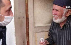 Sokağa çıkamayan 65 yaş üstü yaşlılar için destek veriliyor