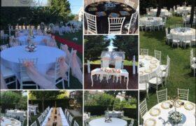 Düğün Organizasyonları İçin Tiffany sandalye kiralama